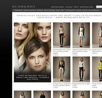 burberry.com screenshot