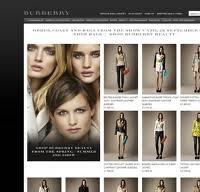 burberry.com screenshot