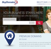 buydomains.com screenshot