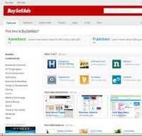 buysellads.com screenshot