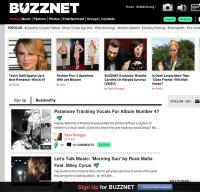 buzznet.com screenshot