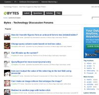 bytes.com screenshot
