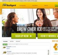 bzzagent.com screenshot