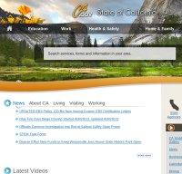 ca.gov screenshot
