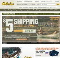 cabelas.com screenshot