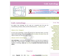 cafeastrology.com screenshot