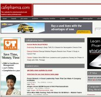 cafepharma.com screenshot