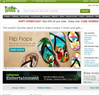 cafepress.com screenshot