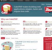 cakephp.org screenshot
