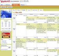 calendar.yahoo.com screenshot