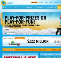 calottery.com screenshot