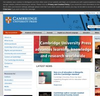 cambridge.org screenshot