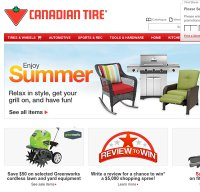 canadiantire.ca screenshot