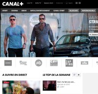 canalplus.fr screenshot