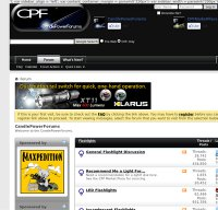 candlepowerforums.com screenshot