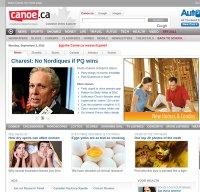 canoe.ca screenshot