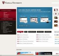 capella.edu screenshot