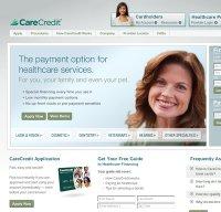 carecredit.com screenshot