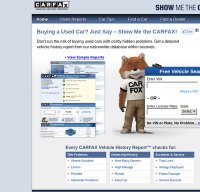 carfax.com screenshot