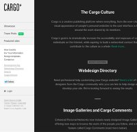 cargocollective.com screenshot