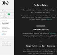cargocollective.com screenshot