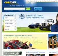 carmax.com screenshot