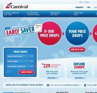 carnival.com screenshot