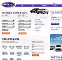 cars.com screenshot