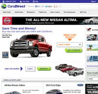 carsdirect.com screenshot