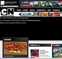 cartoonnetwork.com screenshot