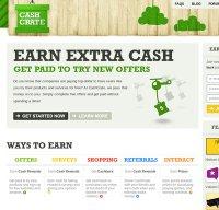 cashcrate.com screenshot