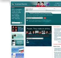 cathaypacific.com screenshot