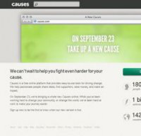causes.com screenshot