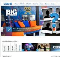 cbs.com screenshot
