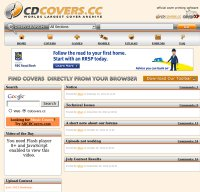 cdcovers.cc screenshot