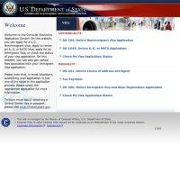 ceac.state.gov screenshot