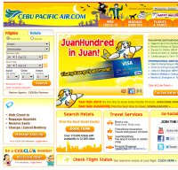 cebupacificair.com screenshot