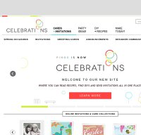 celebrations.com screenshot