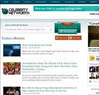 celebritynetworth.com screenshot