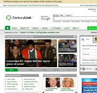 centurylink.net screenshot