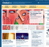 chabad.org screenshot