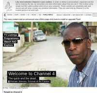channel4.com screenshot