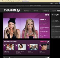 channel5.com screenshot