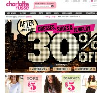 charlotterusse.com screenshot