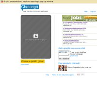 chatango.com screenshot