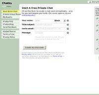 chatzy.com screenshot