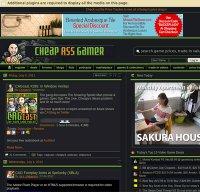 cheapassgamer.com screenshot