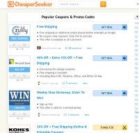 cheaperseeker.com screenshot