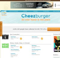 cheezburger.com screenshot