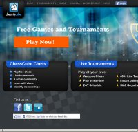 chesscube.com screenshot